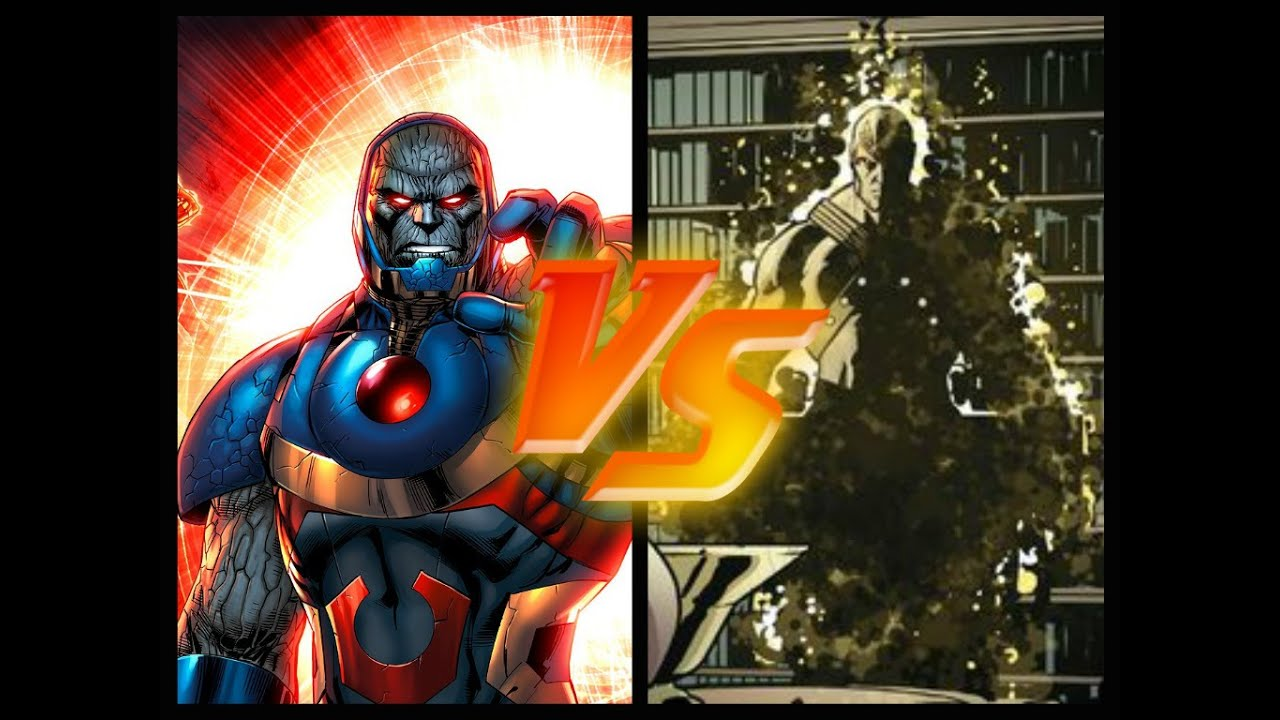 Section Xxi Fantasy Fight Darkseid Vs Korvac Youtube