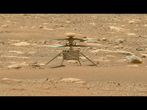 Ingenuity Helicopter completed 4th flight on Mars for 133 meters distance (first pics)