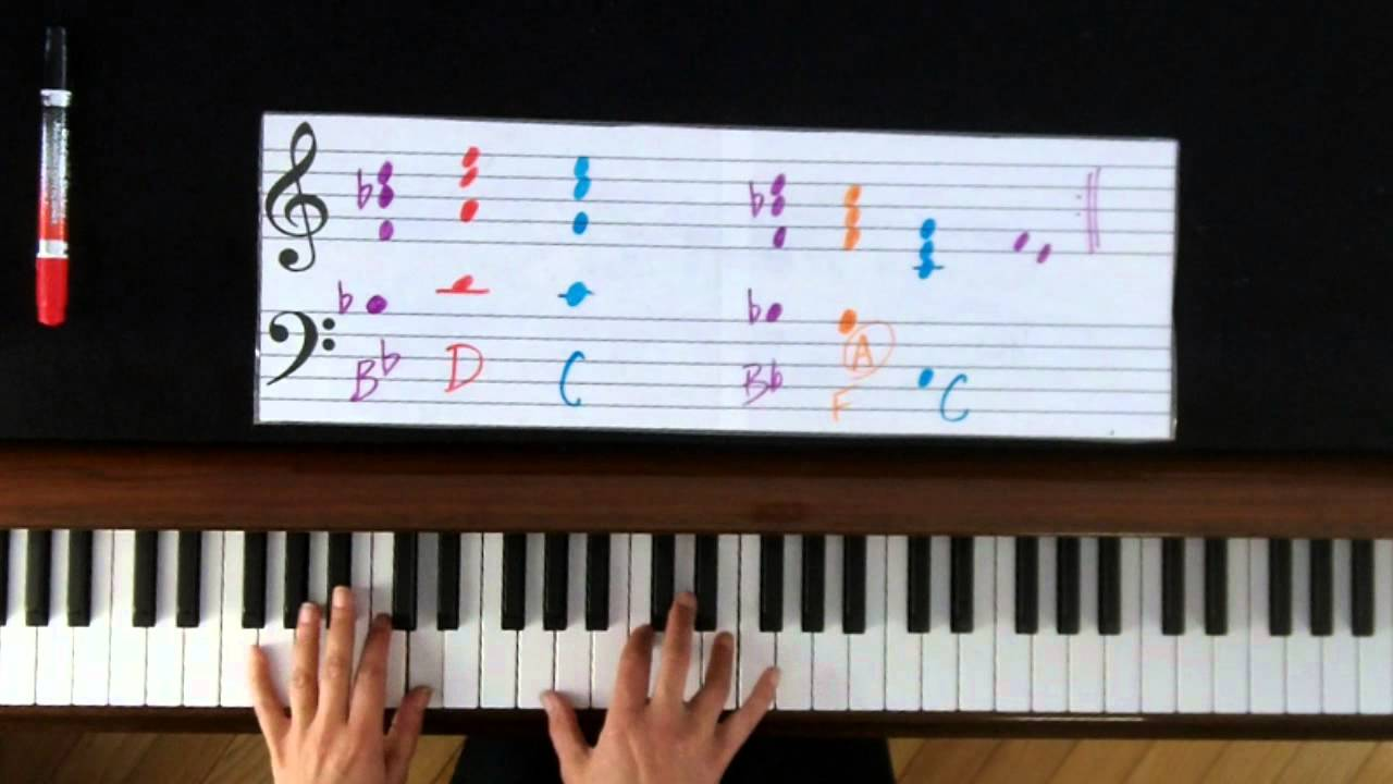 How to play let me love you on piano tutorial ne yo glee youtube hexwebz Image collections