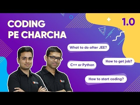 coding-pe-charcha-1.0---how-to-excel-in-coding-from-college-first-year?