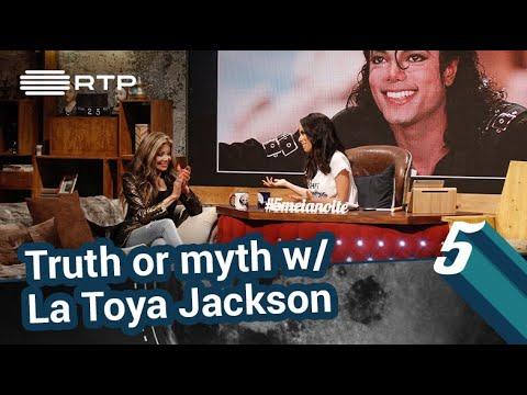 Verdade ou Mito? com La Toya Jackson | 5 Para a Meia-Noite | RTP