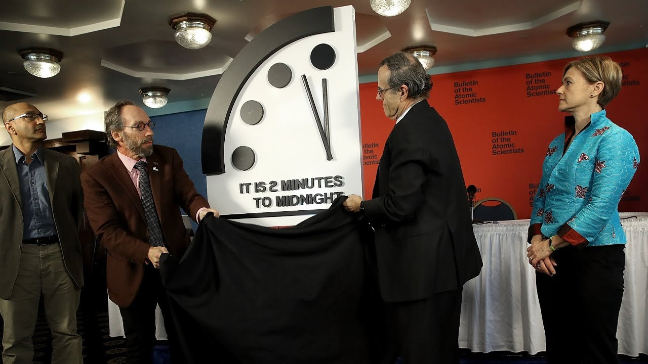 We're closer to destruction than ever before: Doomsday clock reset ...