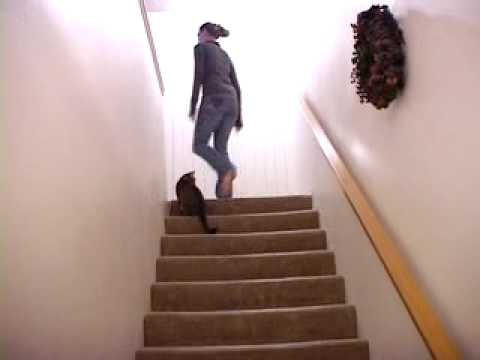 I DO NOT Run Up Stairs Like A GIRL!!!