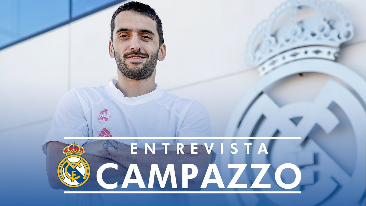"""Campazzo: """"Estaré eternamente agradecido al Real Madrid"""""""