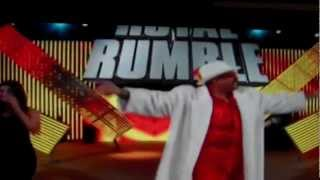 WWE Royal Rumble 2013- The Godfather Returns!.