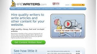 Hire Writers Review - Online Writing Jobs - Work With ChinnaE