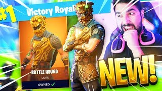 "NEW LEGENDARY ""BATTLE HOUND"" GAMEPLAY in Fortnite: Battle Royale"