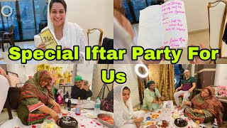 We were invited for a special Iftaar Party by saba ka jahan 🤗 | Mothers Day | Ramadan Vlog