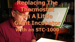 Replacing Little Giant Incubator Thermostat with STC-1000