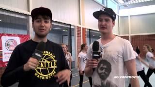 Olympic Moves - Fijne Vrienden (werken zich in het zweet) in Assen!