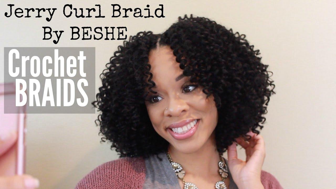Jerry Curl Braid By Beshe Crochet Braid Tutorial
