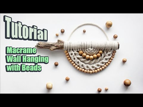 tutorial-macrame-wall-hanging-with-beads- -diy- 