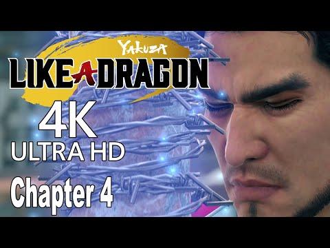 Yakuza Like a Dragon - Chapter 4 The Dragon of Yokohama Walkthrough [4K]