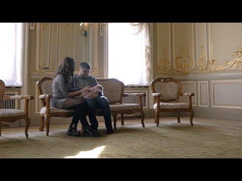 Торжественная регистрация ребенка. Дворец Малютки на фурштатской.  Детская видеосъемка в СПб