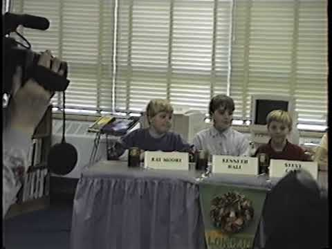 1996 UN Battle of the Books at Longan with Steve, Ray Moore, Kenneth Hall, Samantha Engler