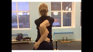 Базовые упражнения для растяжки рук - интерактивный видеоурок