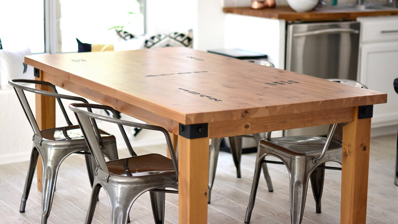 Diy dining table makeover - Diy Dining Table Makeover 11