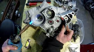 remontage bas moteur am6 partie1