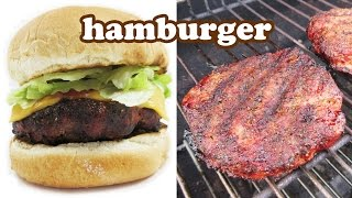 Best Hamburger Recipe - Hamburgers Cheeseburger - Burger Slider - Easy Ground Beef Recipes - Jazevox