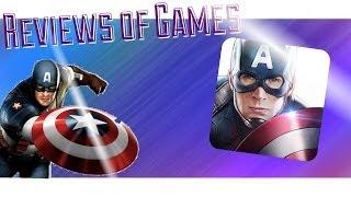 Обзор Первый Мститель. Другая война для Android