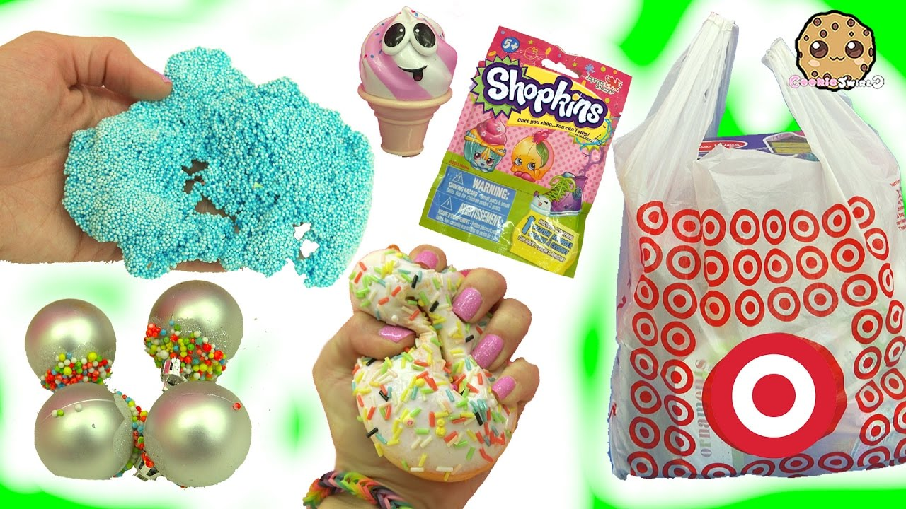 Squishy Cupcakes Christmas Foam Shopkins Blind Bags More