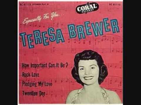 Teresa Brewer - Tweedle Dee (1955)