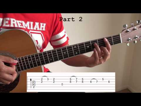 Summer Song Intro Tutorial (Silent Sanctuary) With TAB And CHORDS