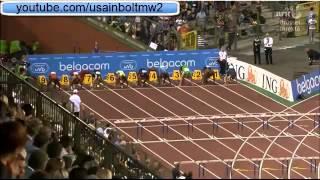 Aries Merritt World Record 110M Hurdles Brussels (12.80)