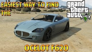 GTA 5 Online | Easiest Way To Find a Ocelot F620 (Maserati)