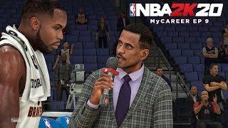 NBA 2K20 My Career Ep 9 - FIRST NBA INTERVIEW!!