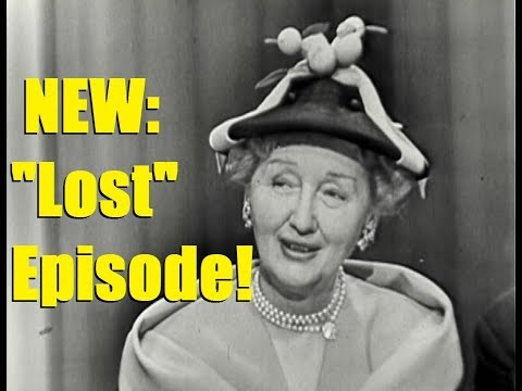 What's My Line?  LOST EPISODE!!! Hedda Hopper; Constance Moore panel Apr 29, 1951