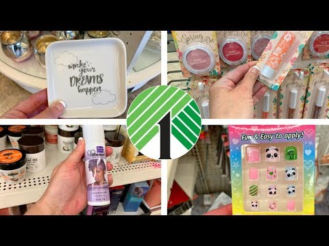DOLLAR TREE *COME WITH ME* NEW FINDS + NEW MAKEUP LINE JUST $1!!!