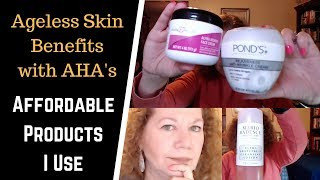 Alpha Hydroxy Acid Benefits for Anti-Aging | What is AHA? | Products Than I Use
