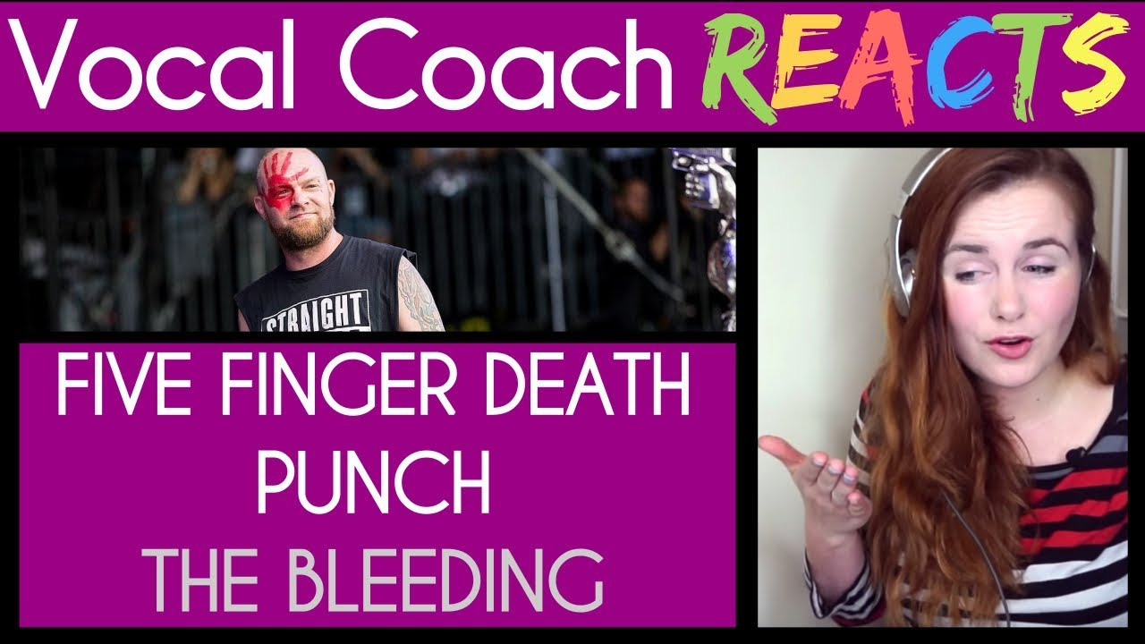 Download Vocal Coach reaction to Five Finger Death Punch - The Bleeding (Rock Am Ring 2017)