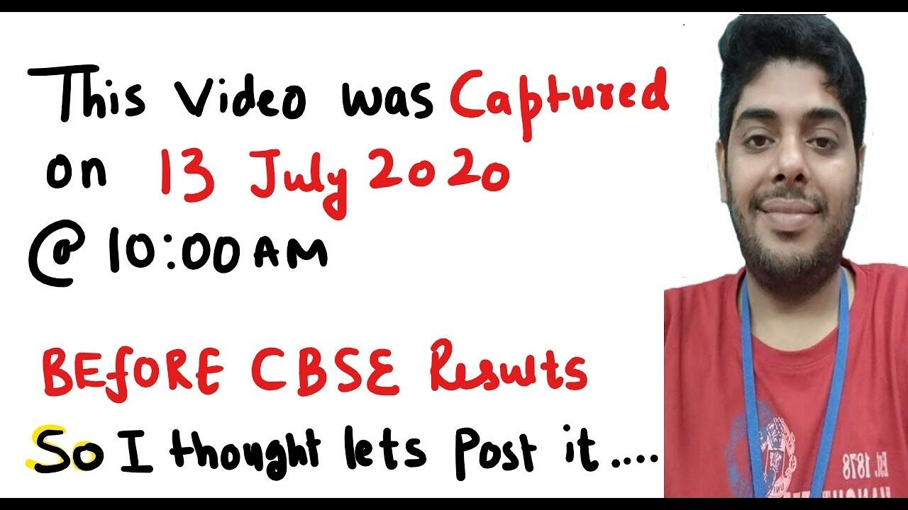 Cbse | QnA | This video was captured at 10am today (13-july-2020).cbse exam,class 12