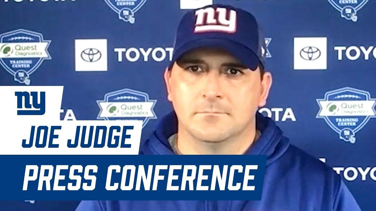 Coach Judge on Progress of Training Camp | New York Giants