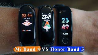 Honor Band 5 vs Mi Band 4 — головні конкуренти серед фітнес браслетів в 2019 році