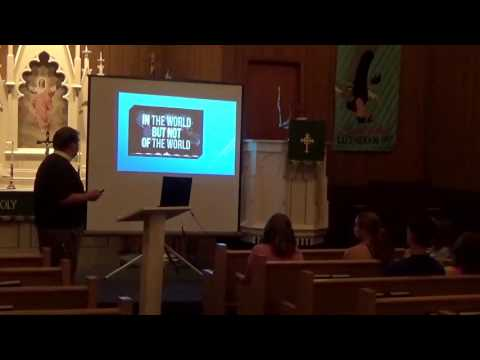 Being a Christian in an Adult World - Plenary 1 - Pastor Ill