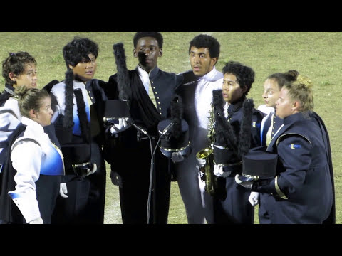 University HS Marching Band @ 2017 Tarpon Springs Outdoor Music Festival