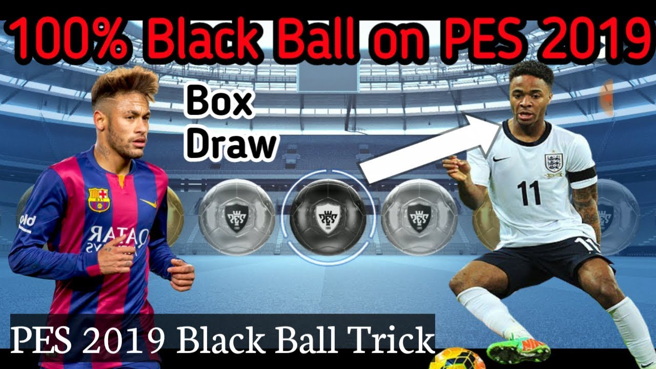 PES 2019 100% Black Ball Trick How to get Blackball on #PES2019   #Konami #MultiTalentRR