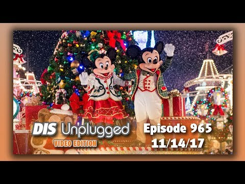 Walt Disney World Discussion + Mickey's Very Merry Christmas Party | 11/14/17