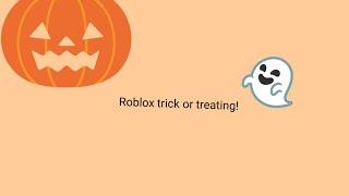 ¡Engañar o tratar en Roblox! (especial de Halloween) 🎃👻
