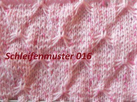 Schleifenmuster 016* Stricken*Muster Für Pullover*Mütze*Tutorial Handarbeit Kreativ