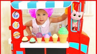 Diana pretend play with Baby Dolls, Funny Kids videos by Kids Roma Show!