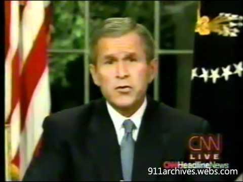 George W. Bush The Night of 9-11-01