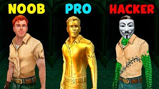 NOOB vs PRO vs HACKER - Temple Run 2