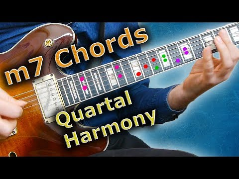 m7 Chords - How to use Quartal Harmony in a Solo