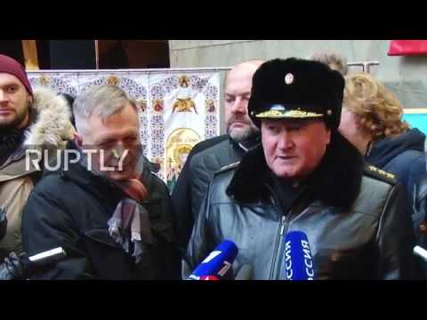 Russia: Strategic nuclear submarine 'Prince Vladimir' floated out