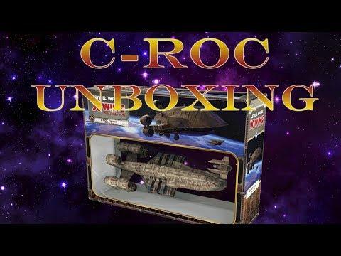 X-Wing: C-ROC Cruiser Unboxing