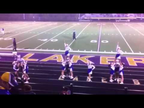 Camdenton Middle School Cheerleaders 10/11/12